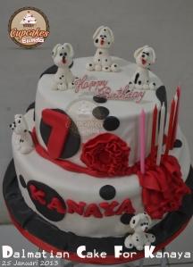 Dalmatian Cake For Kanaya