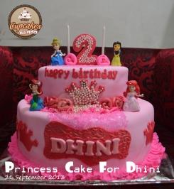 Princess Cake For Dhini